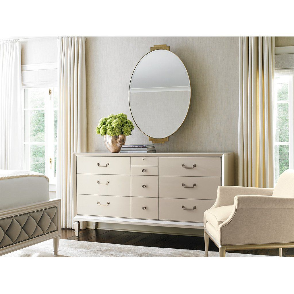 Caracole Classic Diamonds Are Forever Bed Furniture