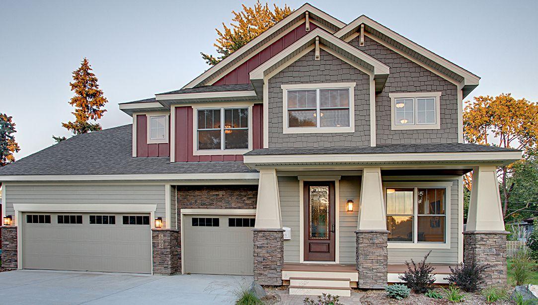 New Homes In Edina Edina Minnesota Horton Homes New Homes House Styles
