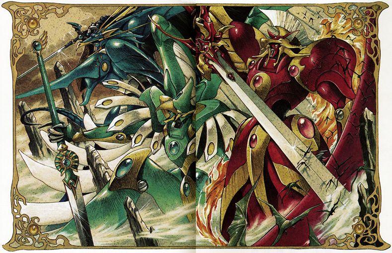Magiv Knight Rayearth Rune Gods Magic knight rayearth