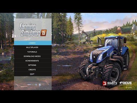 Farming Simulator 2015 Tutorial Pc Gameplay Fb Developer Farming Simulator Farming Simulator 2015 Simulation