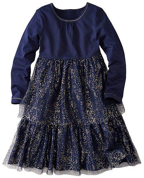 Girls Glitter Twirl Dress by Hanna Andersson | Portrait Looks ...