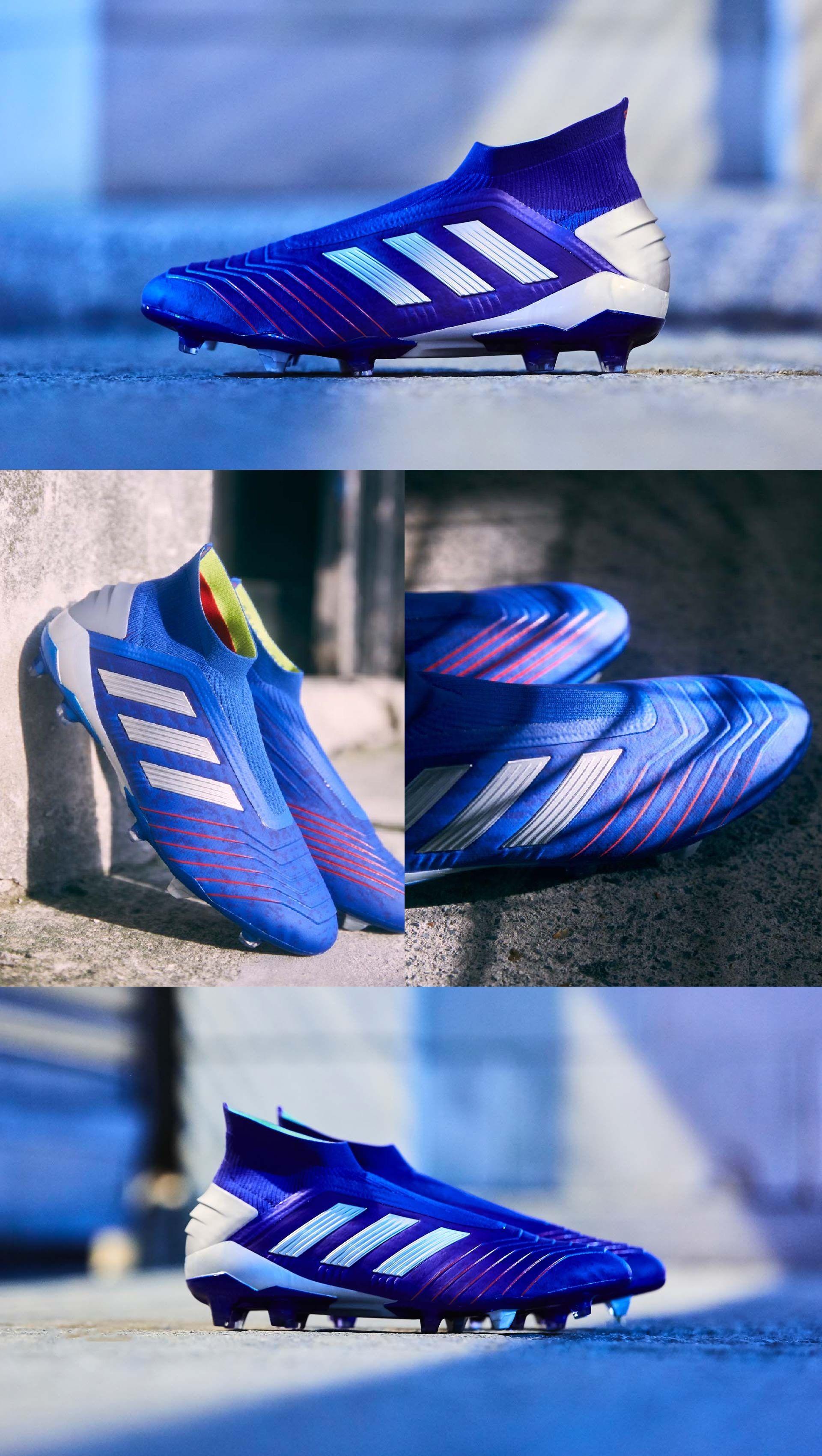 adidas Predator 19+ SG Bold BlueSilver MetallicActive