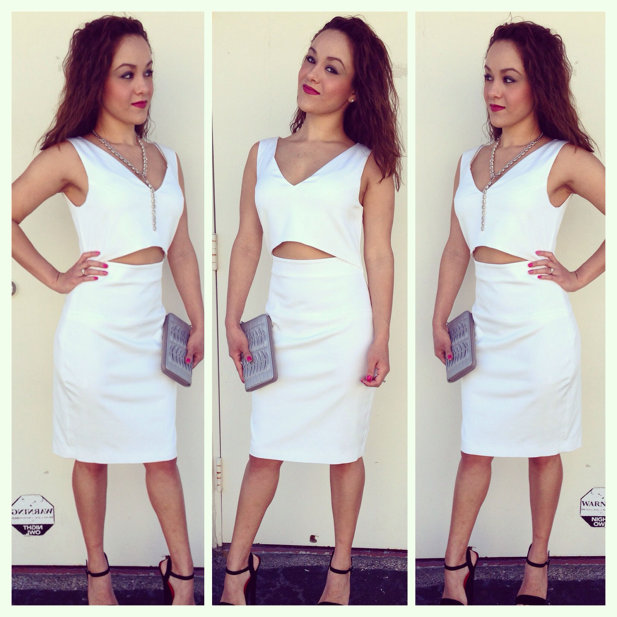 Crop top dress! Available at LaMod, this is the perfect dress www.lamodusa.com