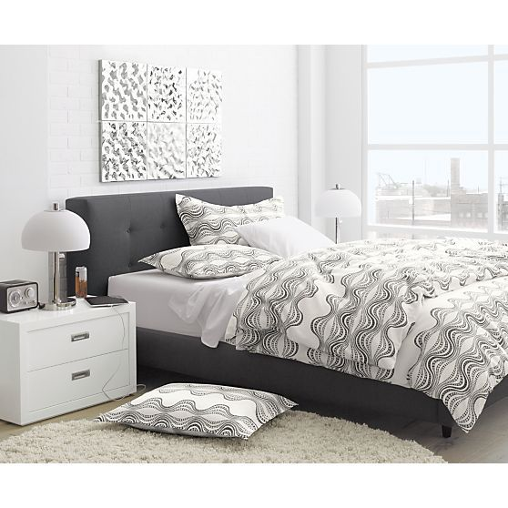 Tate King Bed In Beds Headboards Crate And Barrel