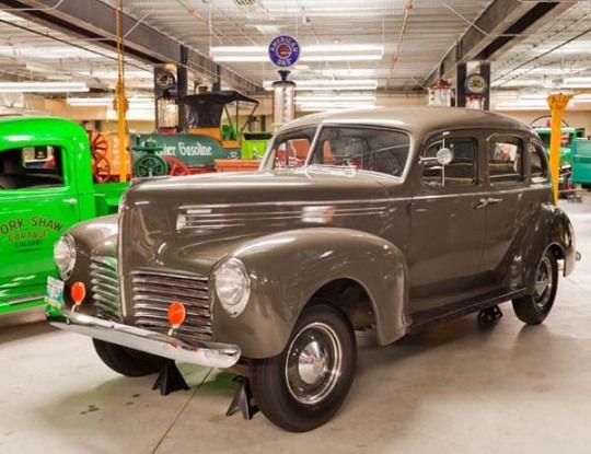 1940 Hudson Traveller 4 Door Sedan