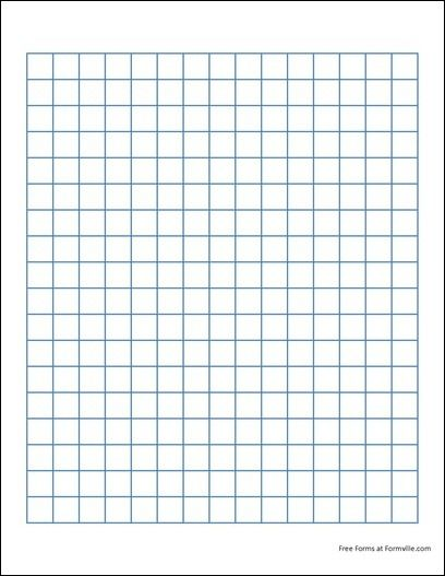 Graph Paper Printable 85X11 Free Graph Paper (2 Squares per Inch