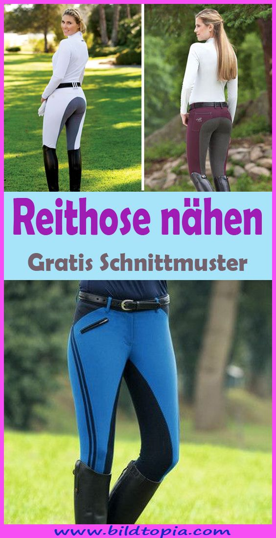 Photo of Sew breeches – free instructions & patterns for riding leggings