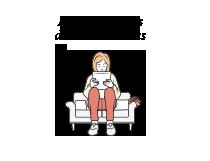 24symbols | 24sutra: posturas para leer en una tablet