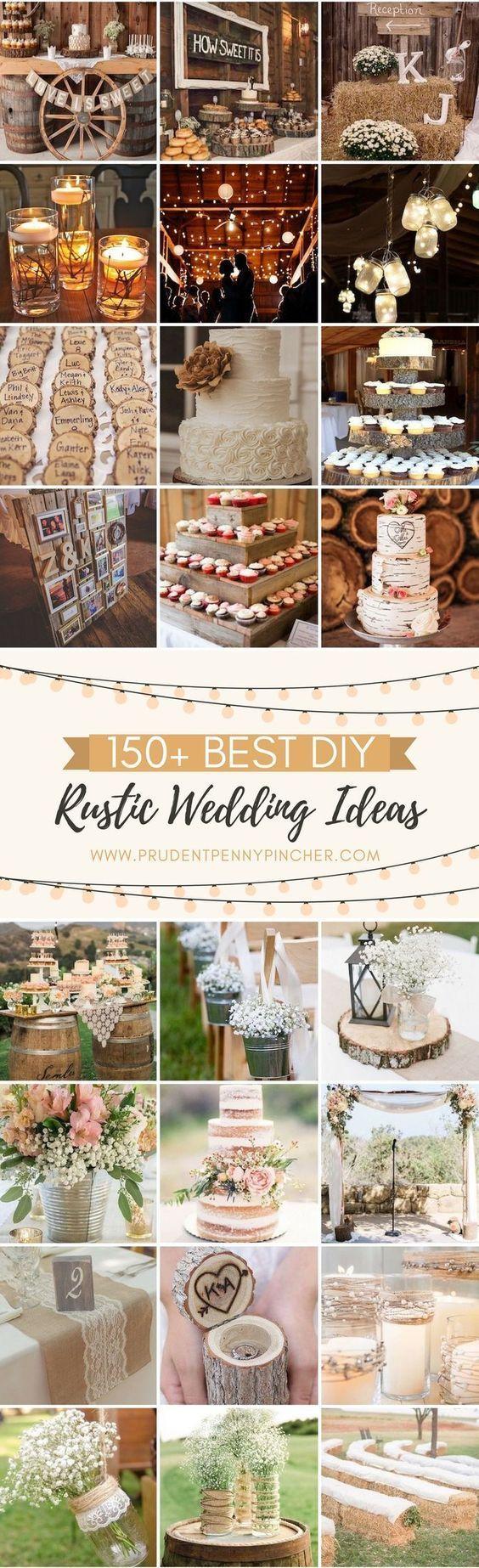 150 Best DIY Rustic Wedding Ideas #weddingideas