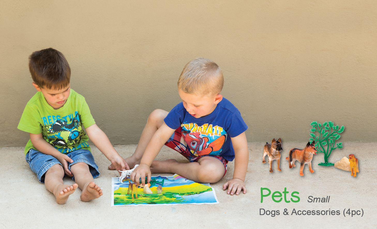 Let Your Children Play For Hours With The Fascinating Set Of Pets
