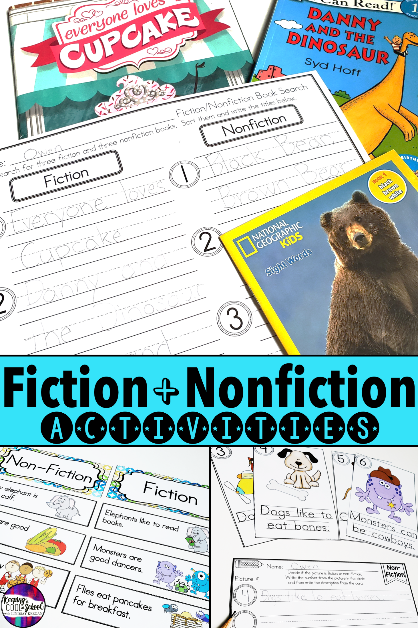 Students Love These Fun Interactive Fiction Vs Nonfiction