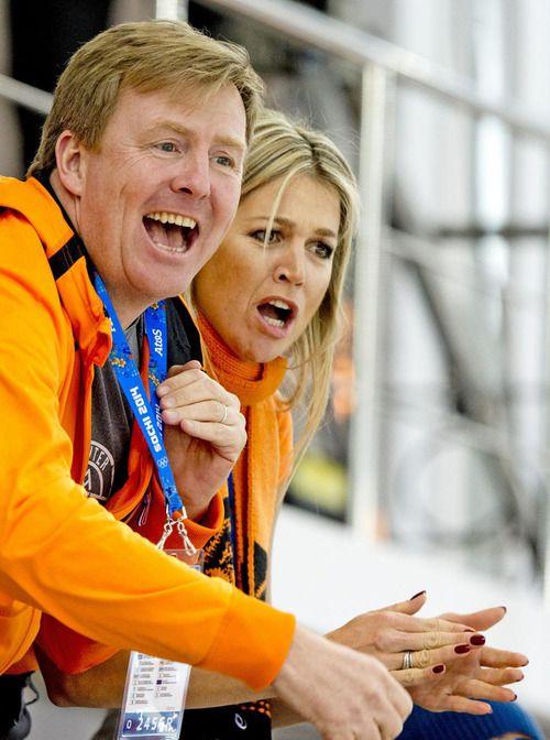 #King Willem-Alexander #Queen Maxima #Dutch Royal Family #Sochi2014