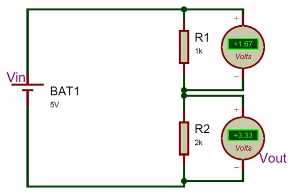 Voltage Dividing Circuit Electricidad Y Electronica Electricidad Electronica
