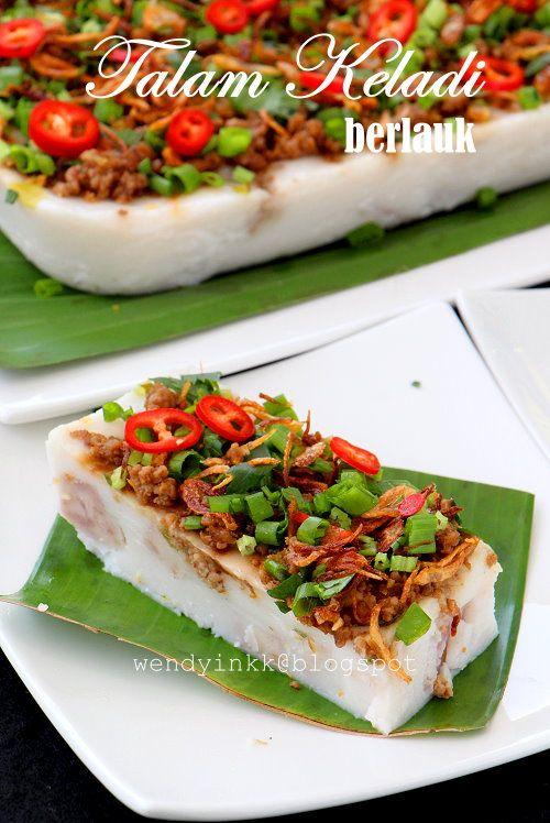 Pin On Yam Cake