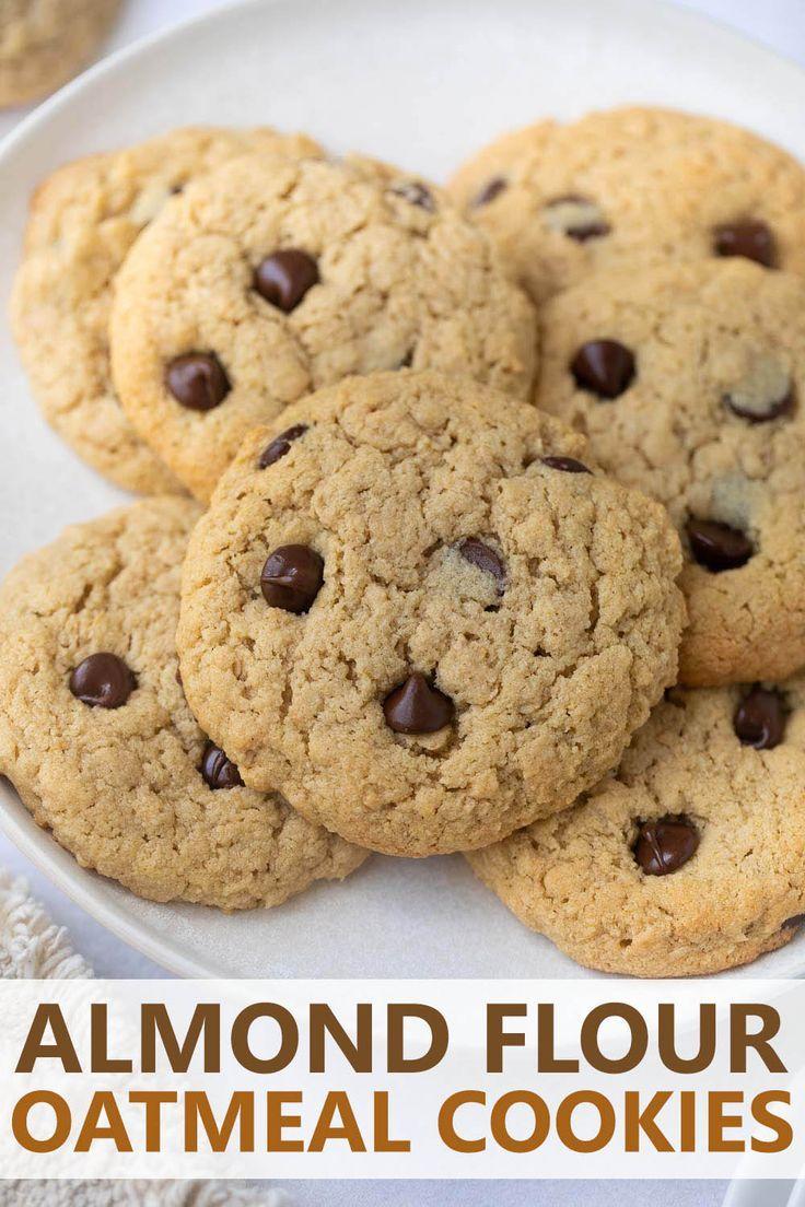 gluten free oatmeal raisin cookies with almond flour