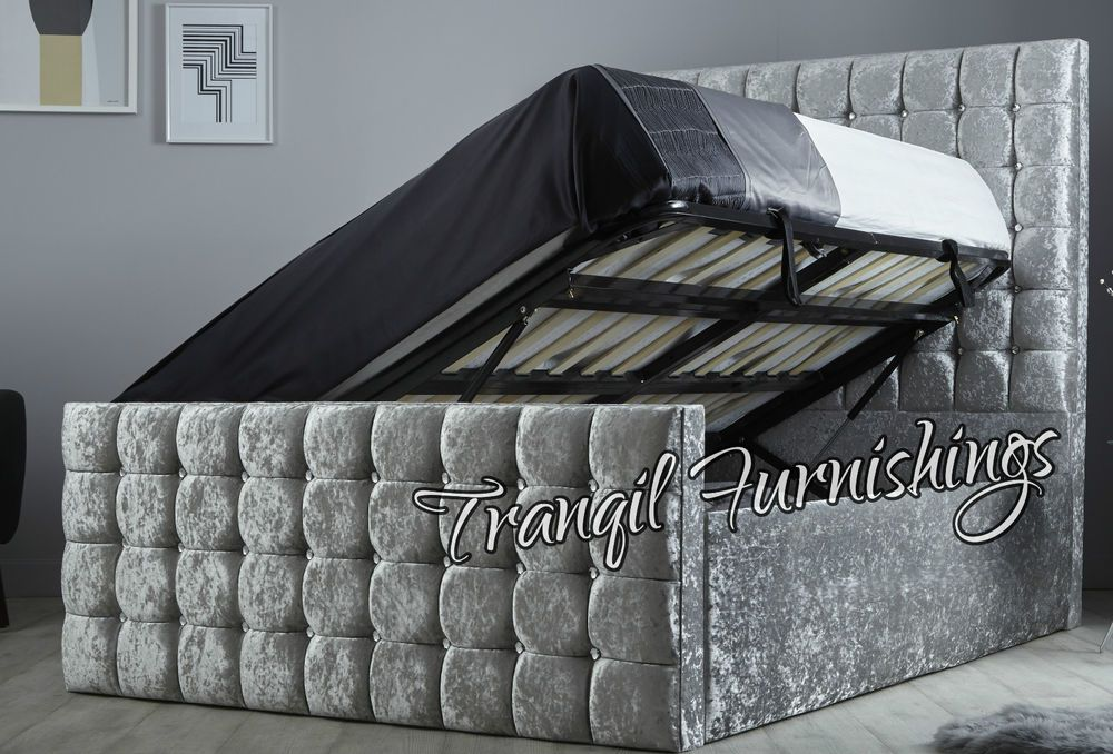 Surprising Details About Capri Storage Side Opening Ottoman Bed Gmtry Best Dining Table And Chair Ideas Images Gmtryco