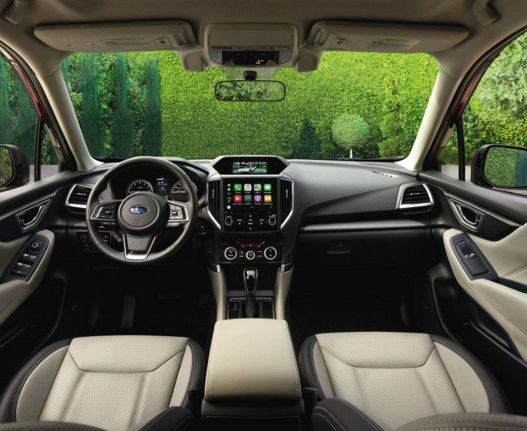 2020 Subaru Forester Interior and Available Devices