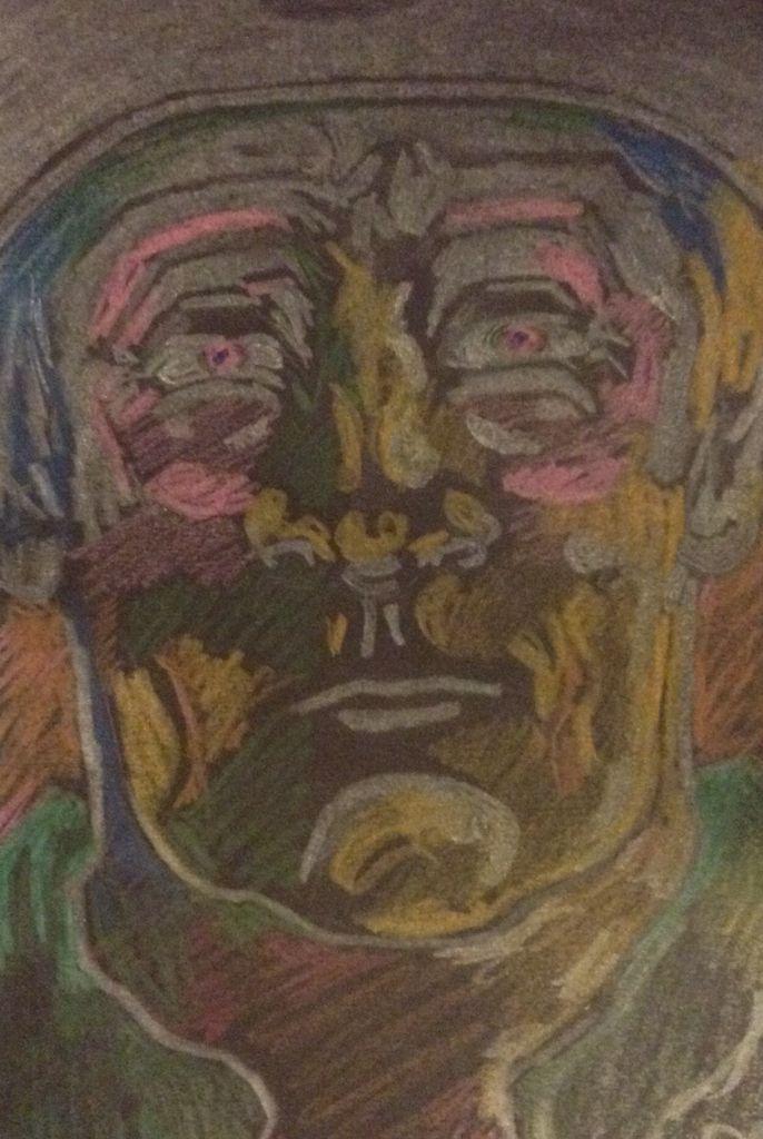 pete holbrook - coloured pencils.