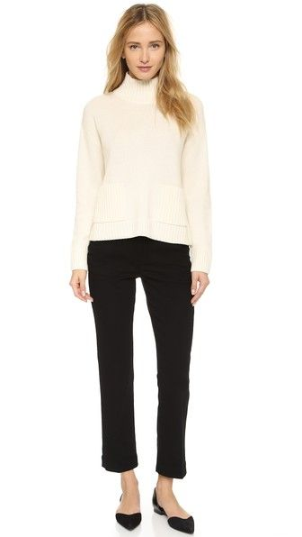 FRAME Le Cropped Trousers