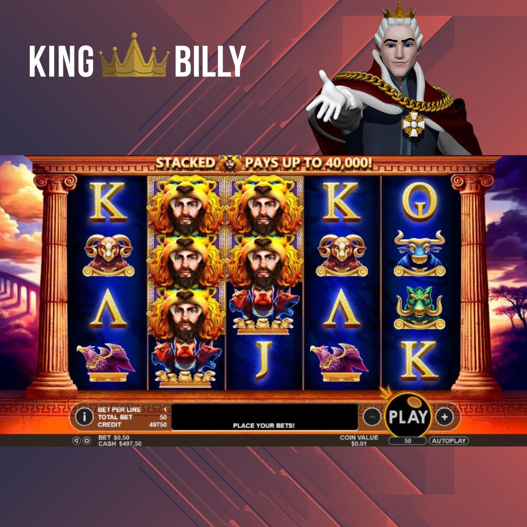King Billy Casino Invites To Play Hercules Son Of Zeus Slot Online Hercules Son Of Zeus Slot Will Keep You Entertained King Son Of Zeus Hercules Son Hercules