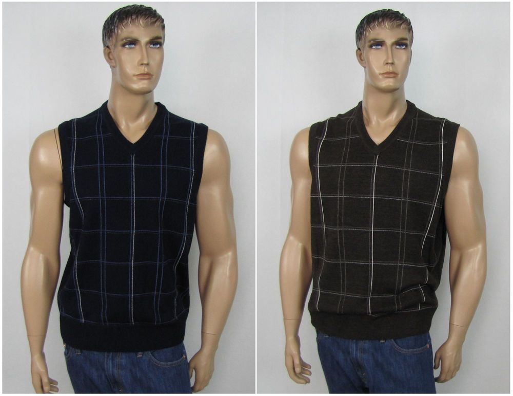 Dockers Vest Acrylic Comfort Touch Men's Sweater Vest Sizes S, M ...