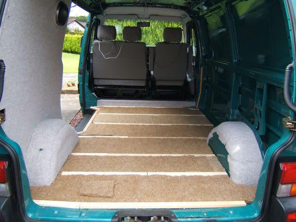 VW T4 Van -> Camper Conversion (update 22.11.10) - PassionFord -