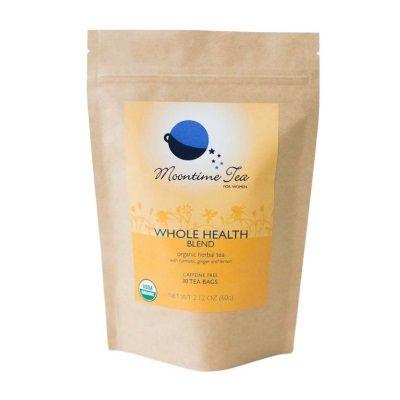 Moontime Tea   » organic whole health tea with turmeric and ginger