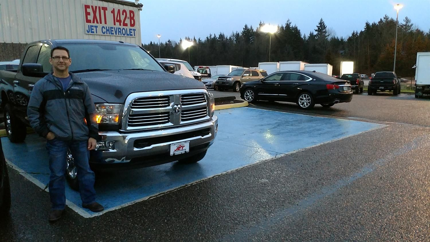 Mike's new 2016 RAM 2500! Congratulations and best wishes