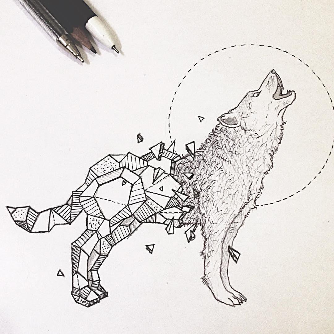 Resultado De Imagen De Geometric Wolf