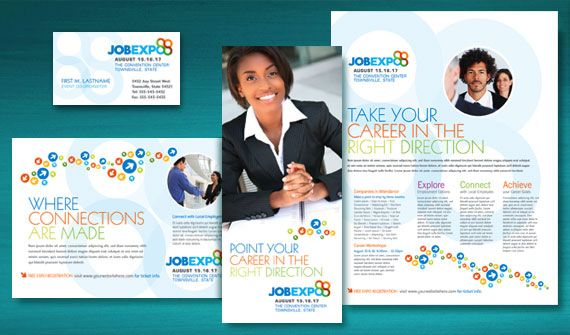 Make the Most of Your Marketing with Graphic Designs for a Job - sample marketing brochure