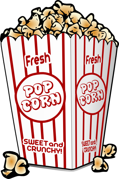 free cartoon graphics fair food popcorn clip art vector clip art rh pinterest co uk clipart of popcorn box clipart of popcorn bag