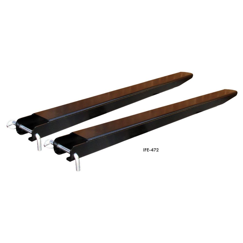 """84/""""x6/"""" Forklift Pallet Fork Extensions Set Heavy Duty Steel Construction Lifting"""