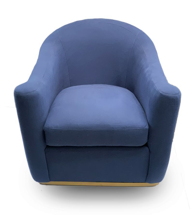 Enjoyable Arlette French Moderne Swivel Chair In Indigo In 2019 Gamerscity Chair Design For Home Gamerscityorg