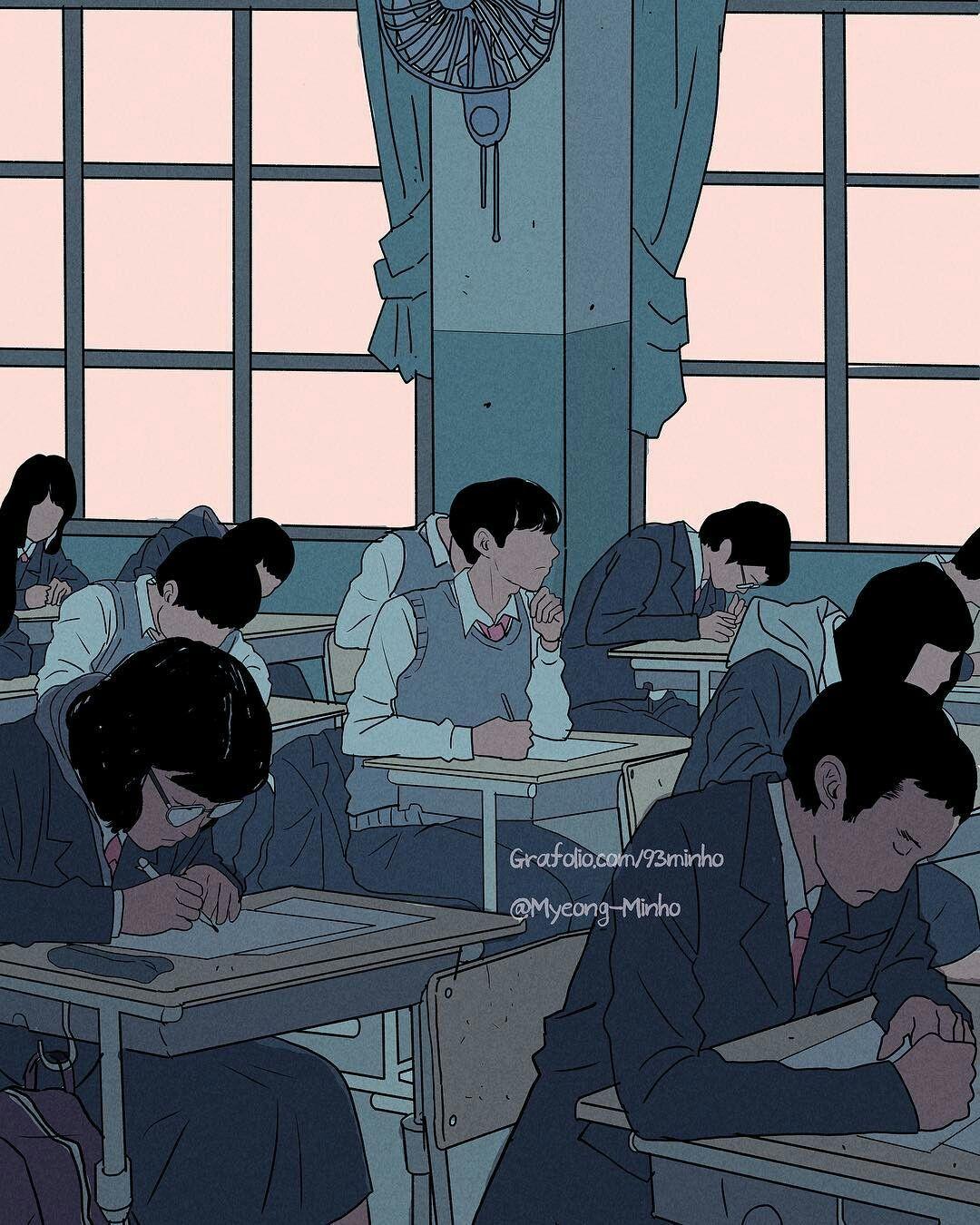 Pin By Himawari On 13 Art Aesthetic Anime Illustration Art