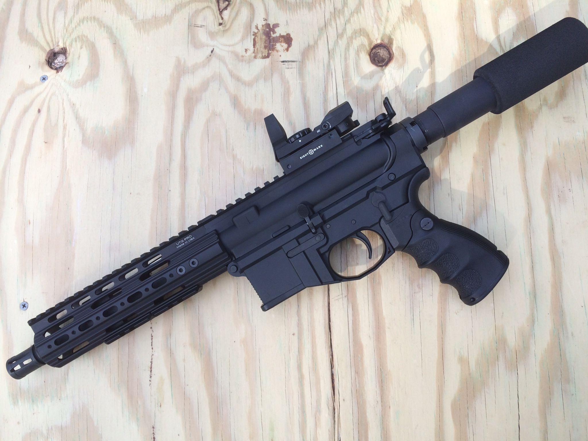 AR Pistol- w/ Polymer80 lower, UTG rails | Build your own
