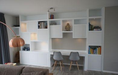 Afbeeldingsresultaat voor maatkast woonkamer | Meble | Pinterest ...