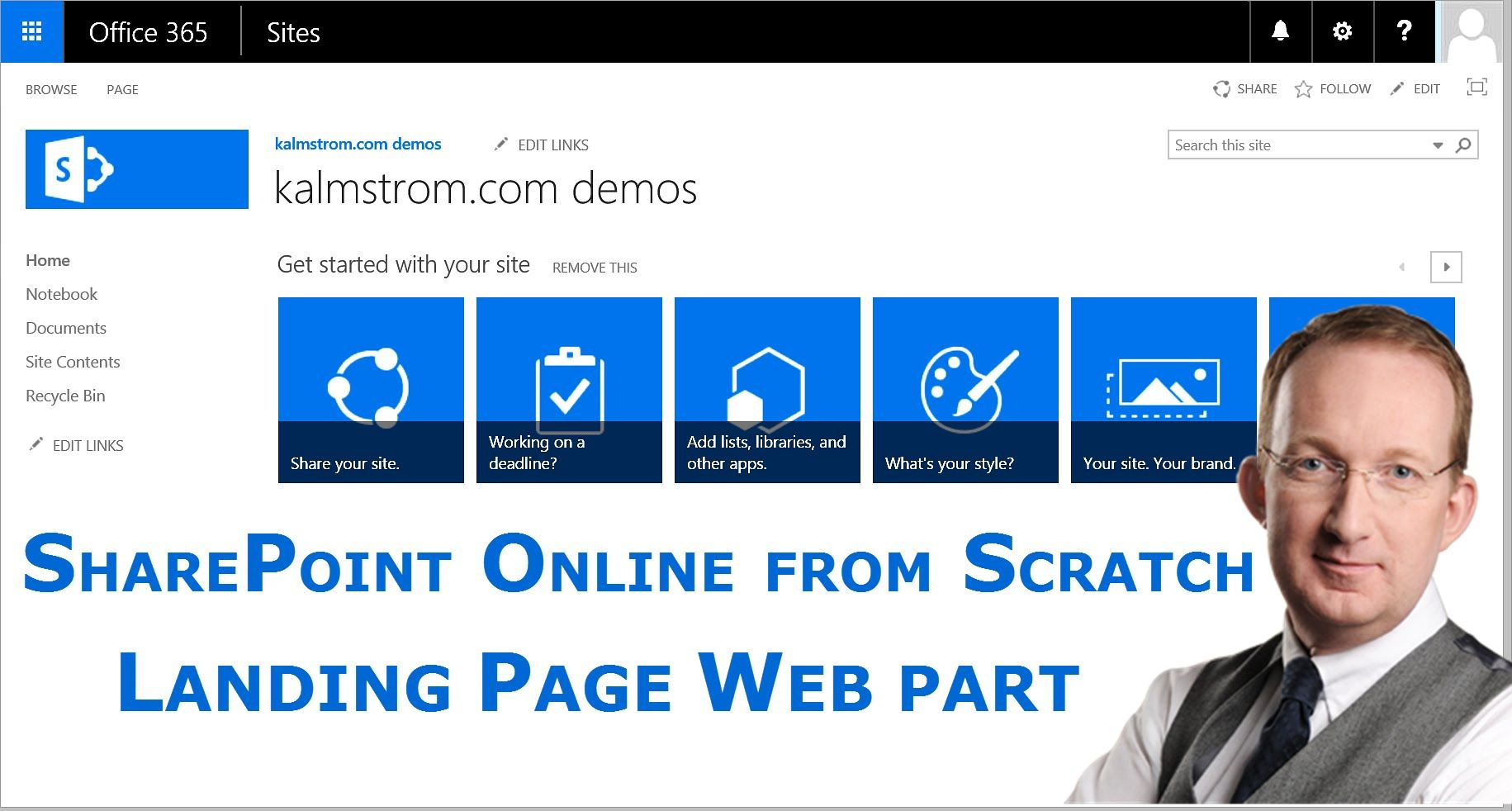 Sharepoint List Landing Page With Web Part Create A Sharepoint