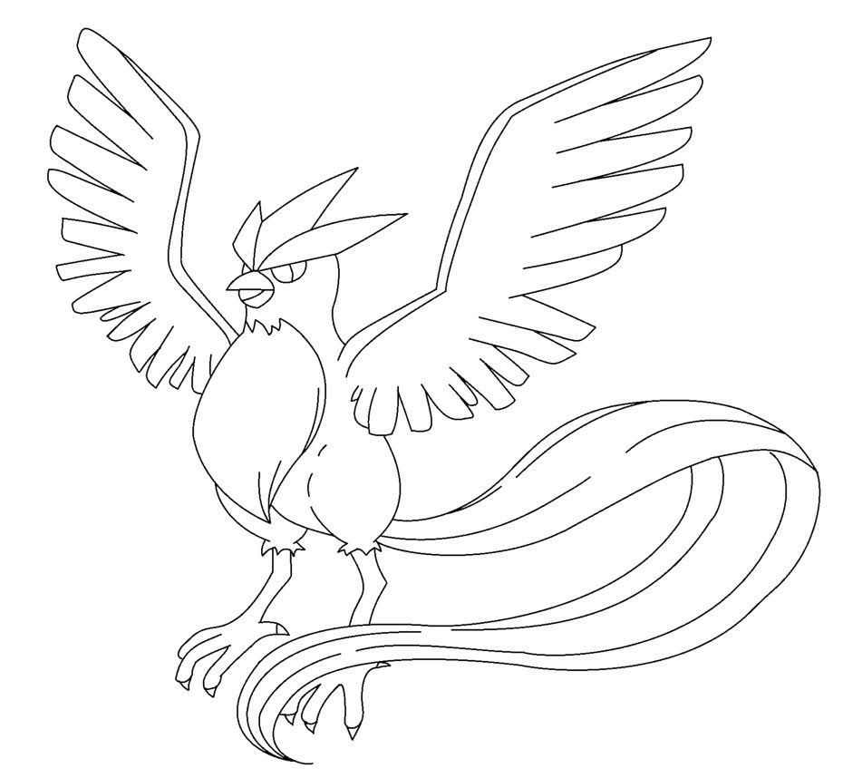 Articuno Coloring Pages To Print Coloring Pages Pokemon Coloring Pages Pokemon Coloring