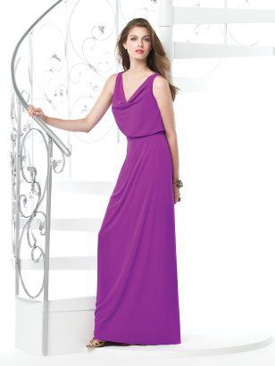 Dessy Collection Style 2830 #purple #bridesmaiddress