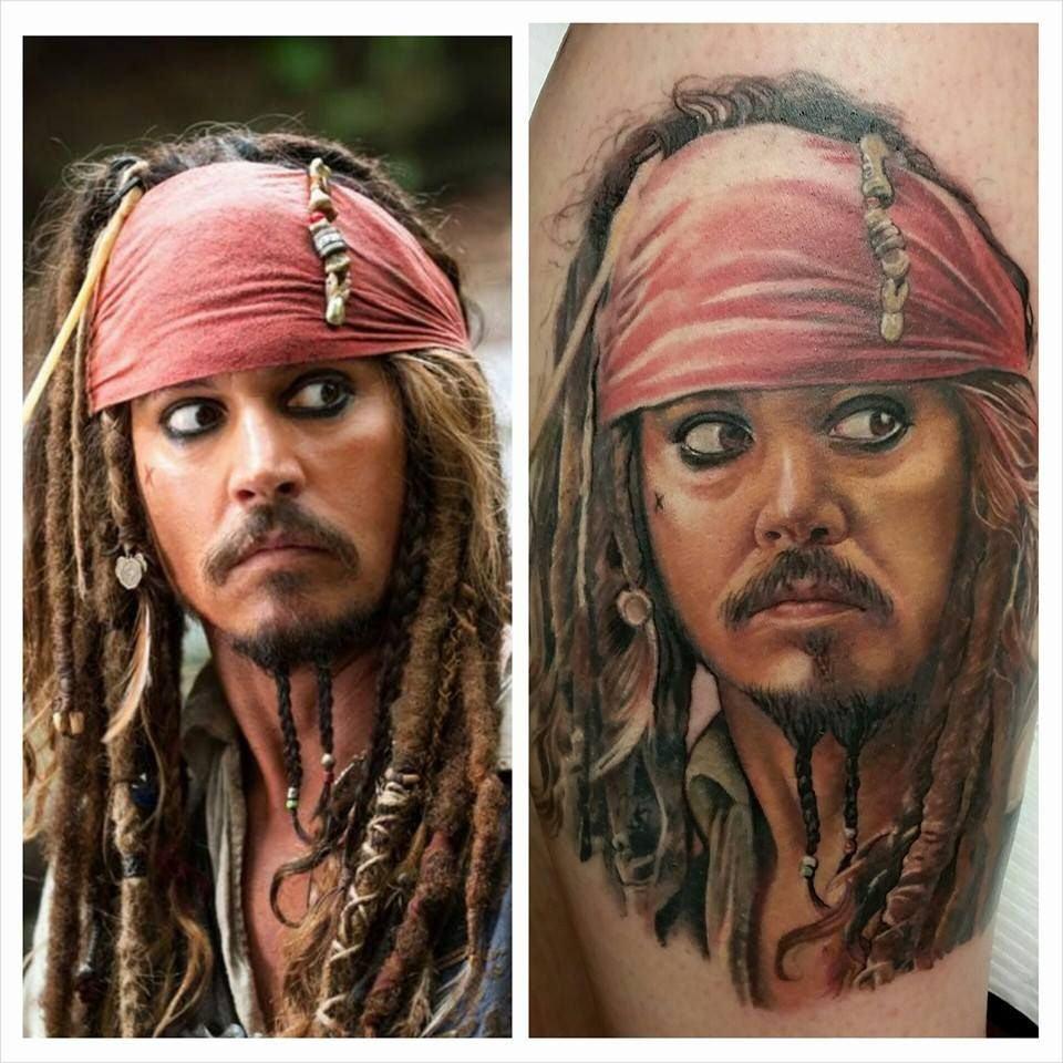 Captain Sparrow Sarah Miller Jack sparrow tattoos