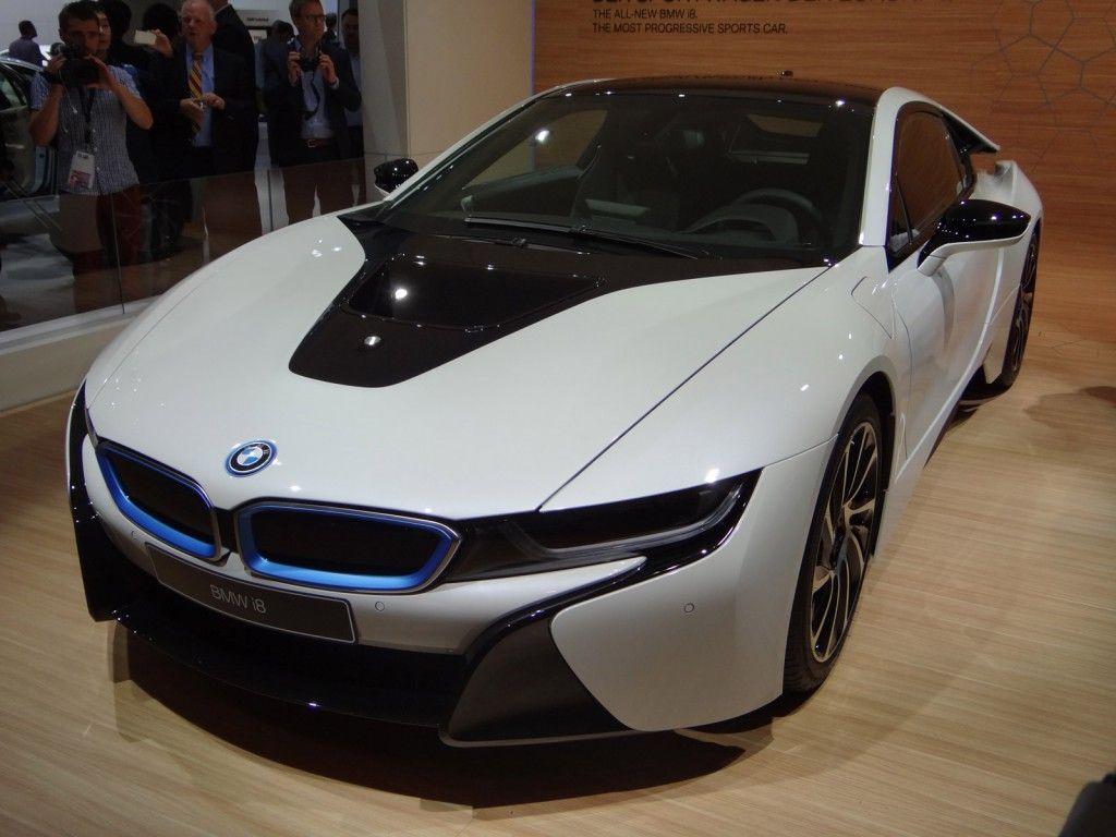 2015 BMW i8 Live Photos 2013 Frankfurt Auto Show Bmw i8