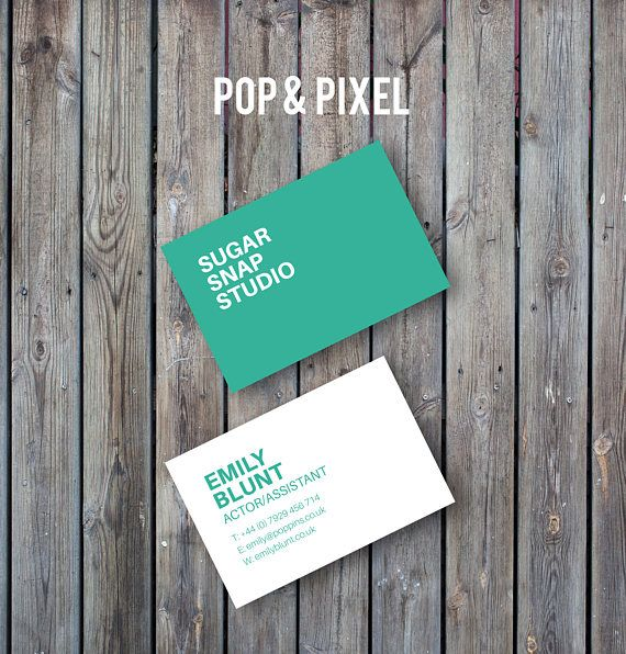 Personalised Business Cards Printable Business Card Personalized