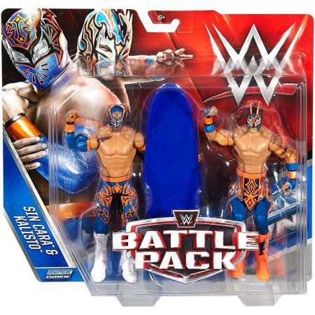 WWE SIN CARA et Kalisto Figure 2 Pack