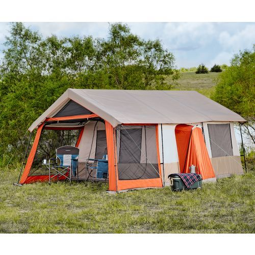 Academy - Magellan Outdoors™ Trailhead Lodge Cabin Tent  sc 1 st  Pinterest : roof lodge tent - memphite.com
