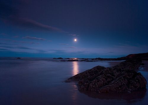 Moonrise Over Spital (by butch111281)