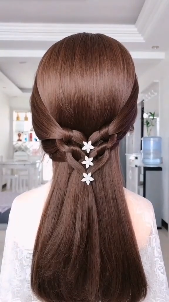 SIMPLE HAIRSTYLE -   24 hairstyles Videos women ideas