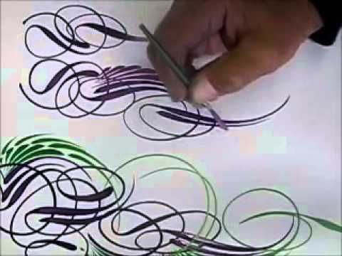 Freehand Scroll Styles 3 - YouTube