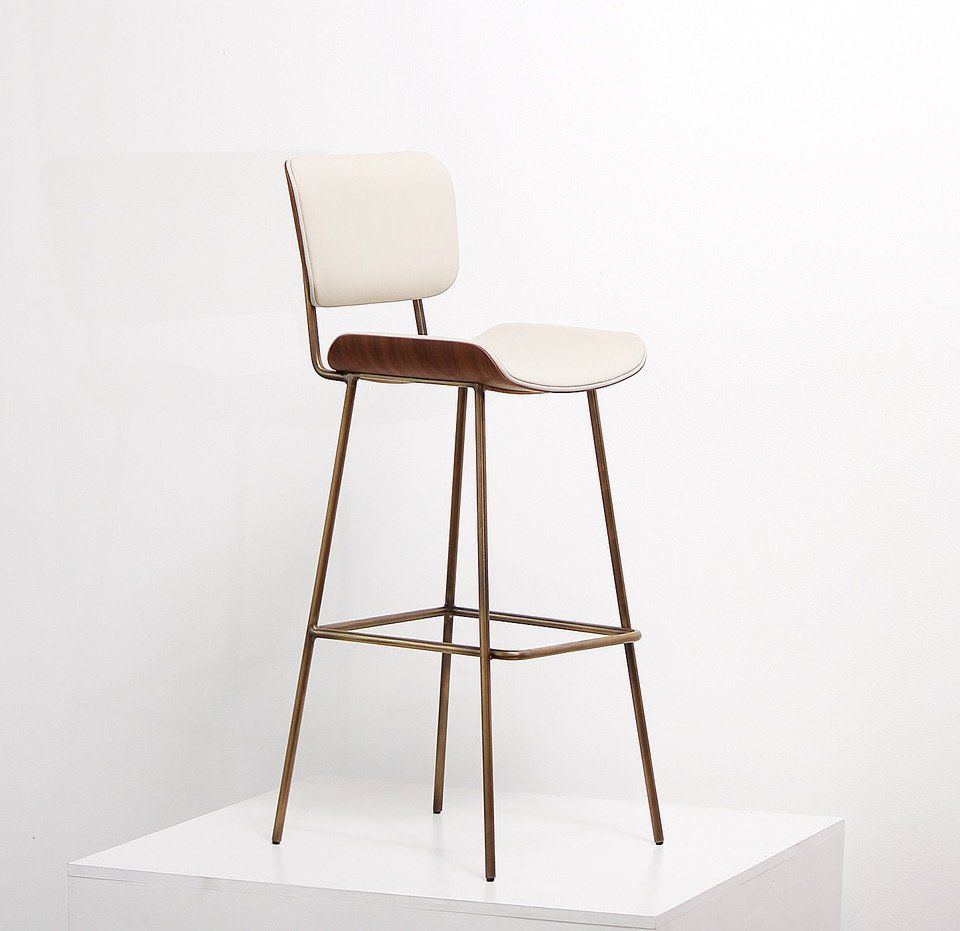 Magnificent A Custom Designed Stool By Thomas Hayes Studio Featuring A Gmtry Best Dining Table And Chair Ideas Images Gmtryco