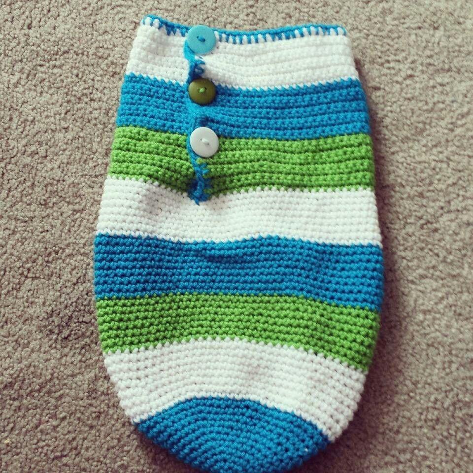 Crochet cocoon https://m.facebook.com/jkknots | Knots by Jenni ...