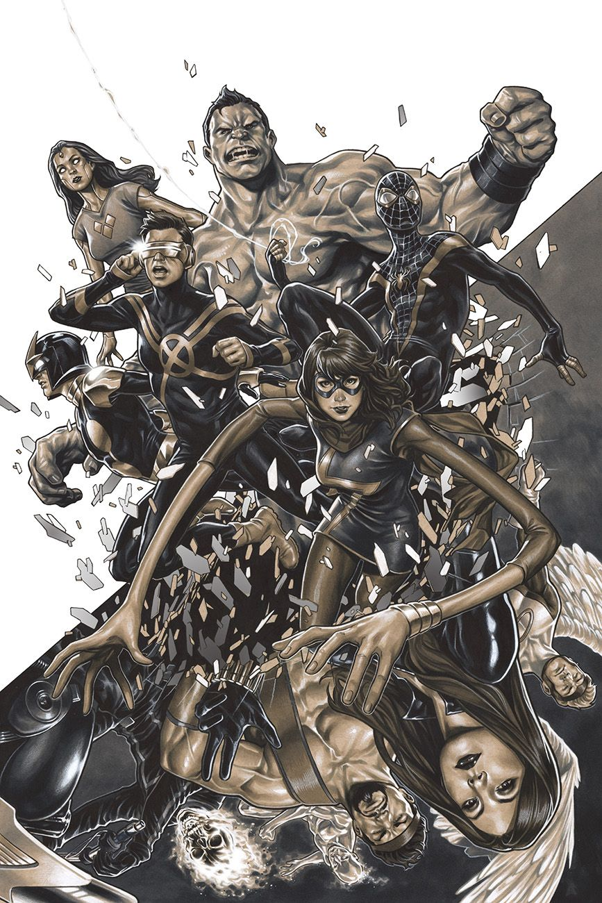 Champions #1 Champions variant cover by Mark Brooks *